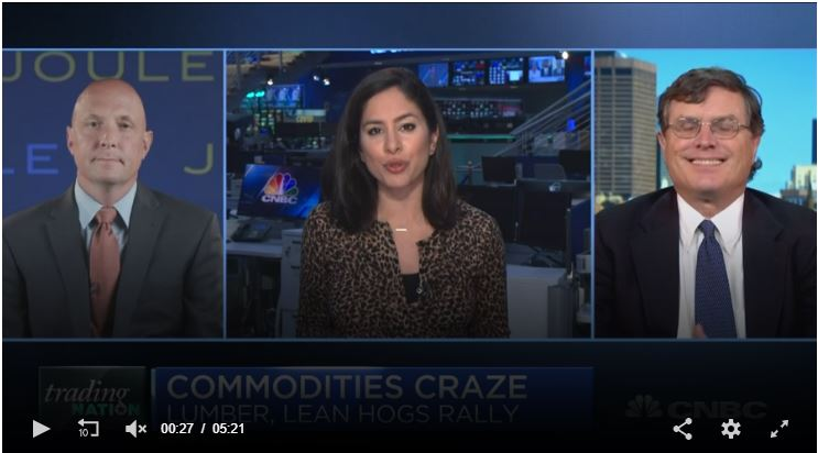 CNBC – Inflation on the Rise