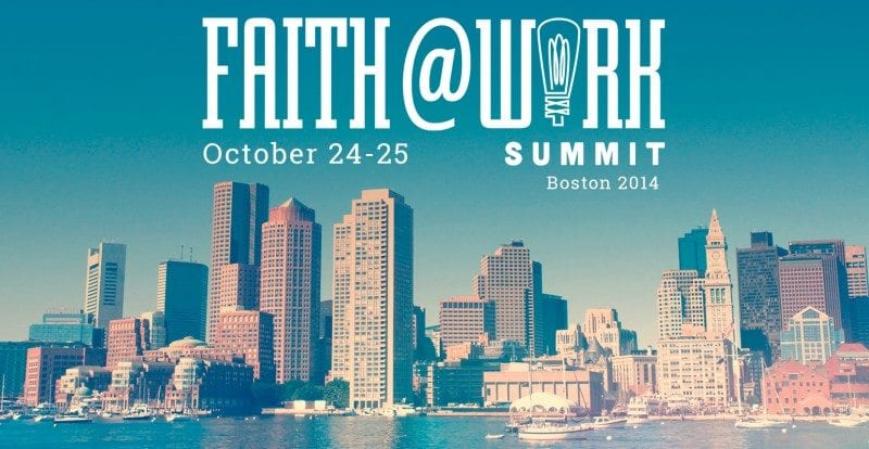 faith at work, workplace ministry